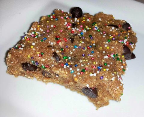 Banana Split Protein Bars