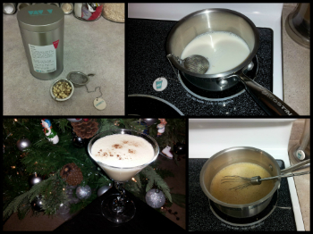 Healthy ProTea Eggnog Cooking Steps